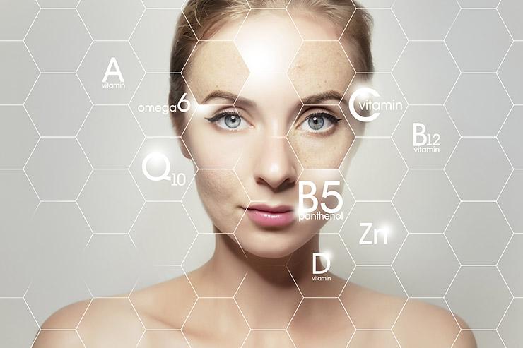 Vpliv vitaminov na kožo